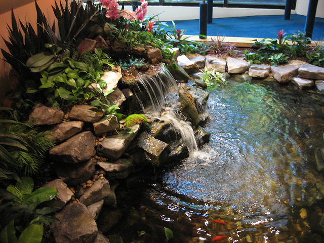 How To Build Koi Pond Waterfall Car Interior Design