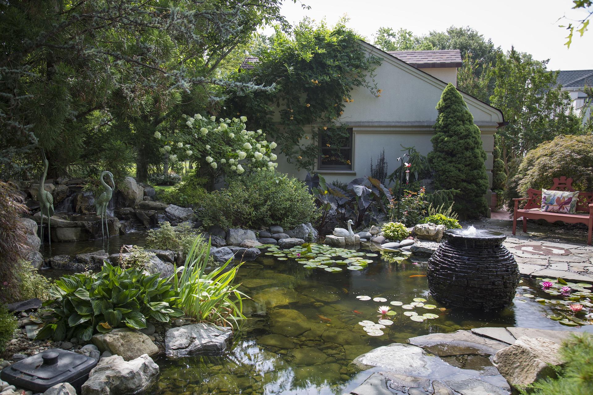 Custom koi ponds and water gardens pond boy water gardens for Custom koi ponds